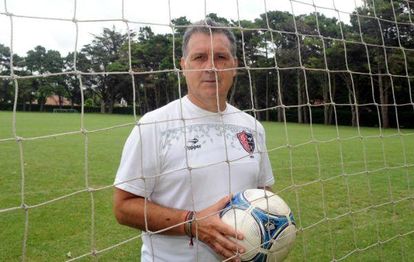 Me quedo acá. Martino pretende seguir con los objetivos que se trazó en Newells y aún mantiene. (Foto: S. Salinas)