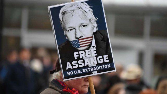 El activista australiano Julian Assange