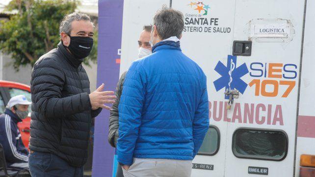 El intendente Pablo Javkin dijo que a la pandemia hay que enfrentarla sin miedo.
