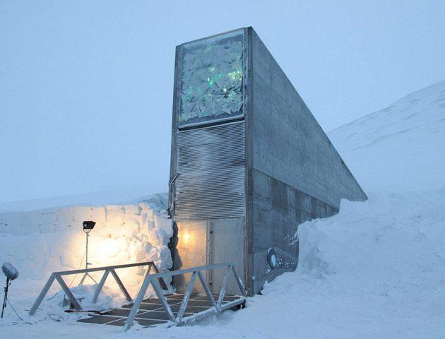 La Bóveda del Fin del Mundo está ubicada en una remota región de Noruega.
