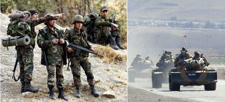 Turquía lanzó gran ofensiva militar en el norte de Irak