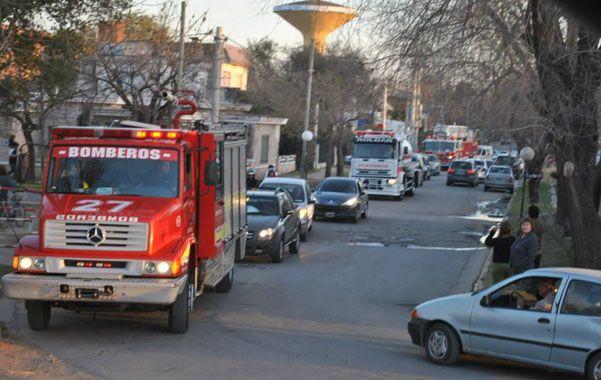 La autobomba de la Asociación de Bomberos Voluntarios de Funes será emplazada en la plaza San José.