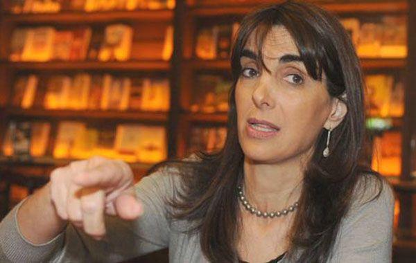 María Eugenia apuntó sin decirlo a algunos dirigentes peronistas.