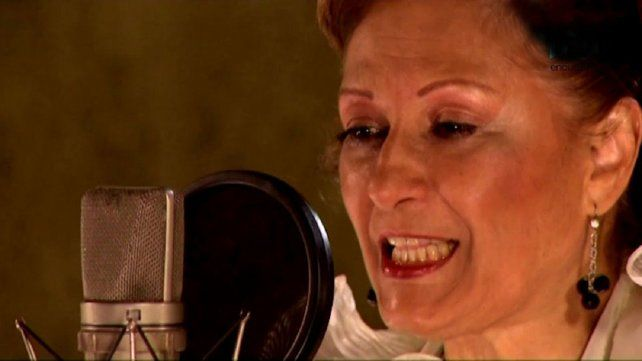 Ramona Galaraza se convirtio en una leyenda del chamamé. Murió a los 80 años