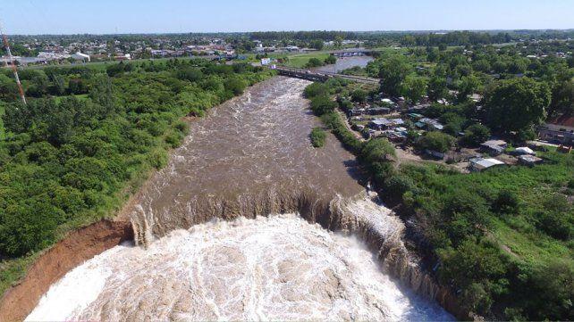 La cascada del Arroyo Saladillo se haría pendiente para mitigar sedimentos