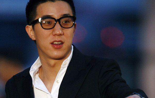 Jaycee Chan en un festival de cine años atrás.