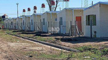 Viviendas construidas en barrio Jesuítas, en Santa Fe.