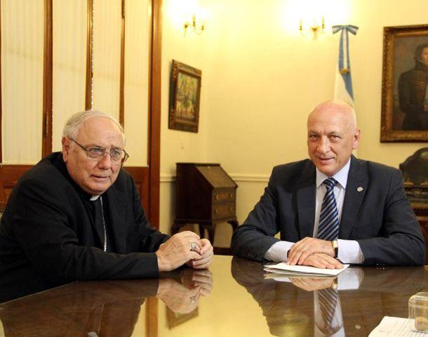 José María Arancedo y Antonio Bonfatti participaron del cónclave.