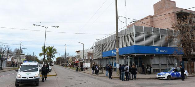 El banco ubicado en San Martin y Rivadavia