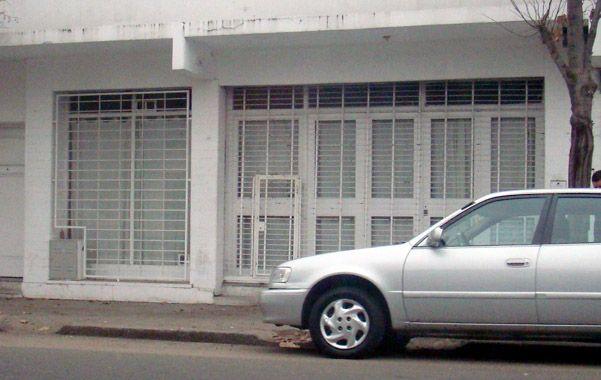 Sin ninguna identificación. A simple vista no se sabía qué había en el lugar intervenido por Gendarmería.