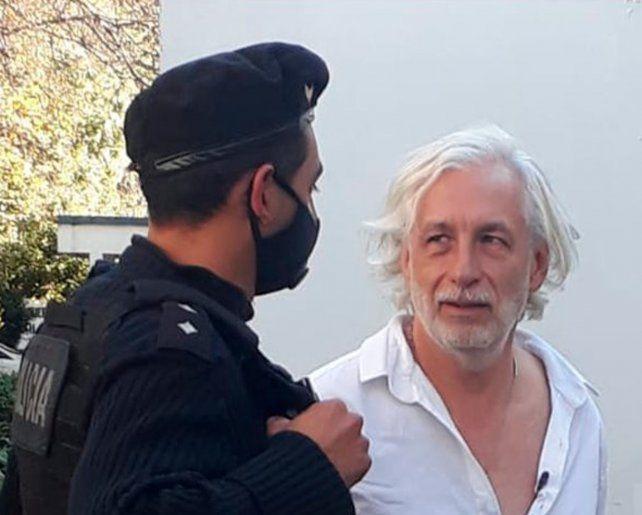 Tensión en el Monumento: detuvieron a Mariano Arriaga, líder de Médicos por la Verdad