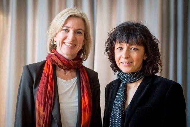 La francesa Emmanuelle Charpentier y la estadounidense Jennifer Doudna ganaron el Nobel de Química 2020.
