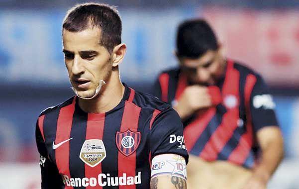 Eliminado. Leandro Romagnoli refleja la desazón tras quedar afuera de la Copa.