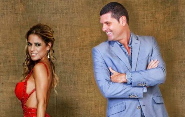 El ex de Marina debutó como conductor junto al Teto Medina en Radio Rivadavia.