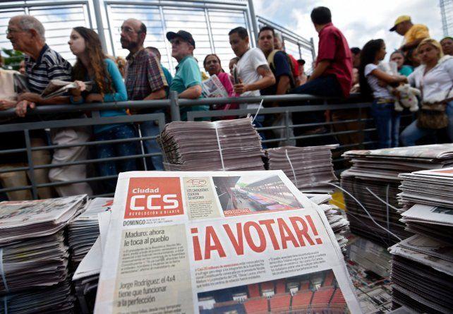 El gobierno argentino no reconocerá los resultados de la elección venezolana