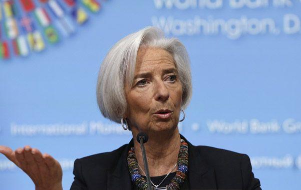 Monitoreo. El organismo que dirige Christine Lagarde difundió las nuevas proyecciones para la economía mundial.