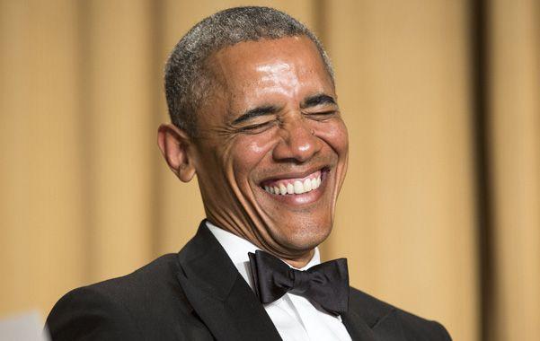 En su último bienio de poder, Obama se ríe de todos, incluido él mismo