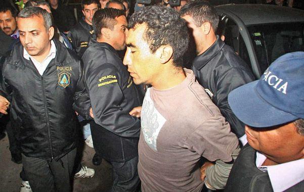 Sospechoso. Cristian Ledesma Méndez fue arrestado en Villa Domínico.