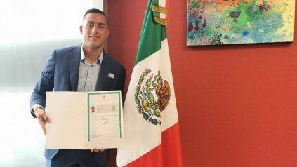 Ya soy mexicano, afirmó Rogelio Funes Mori, y se puso a disposición del Tata Martino