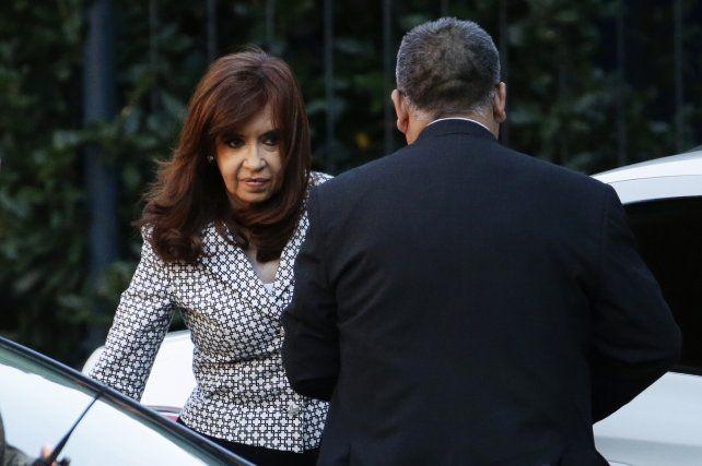 Cristina enfrenta tres causas en tribunales.