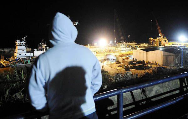 Los empleados afectados volvían a las instalaciones de la empresa UABL