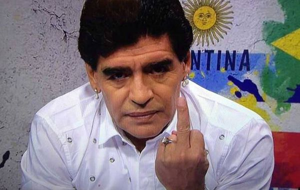 Maradona salió al cruce de las declaraciones de Grondona.