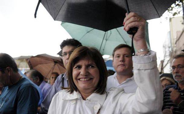 La diputada del PRO estuvo presente en la marcha por la muerte de Nisman.