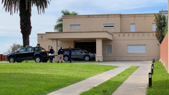 Efectivos de la Agencia de Investigación Criminal detuvieron esta mañana al empresario.