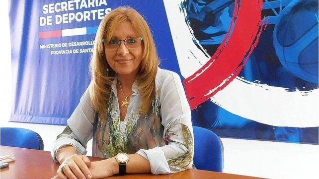 Renunció Claudia Giaccone como secretaria de Deportes de la provincia