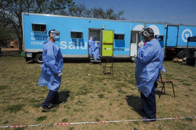 Rosario registró 20 muertes por coronavirus y superó las 1.600 víctimas fatales