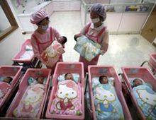 Hace furor en Taiwán un hospital maternal decorado con Hello Kitty