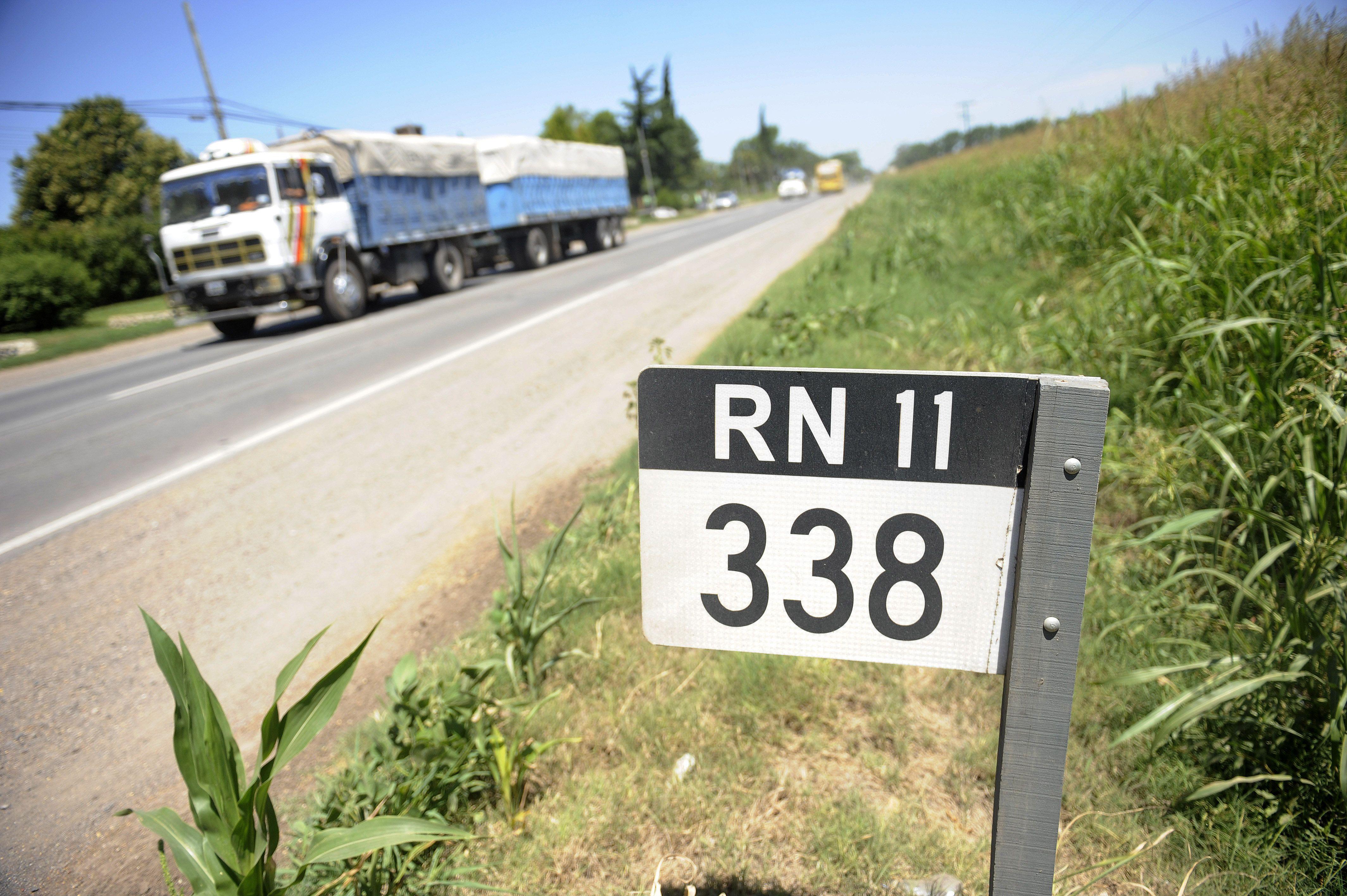 Los accidentes ocurrieron sobre la ruta nacional 11. (Foto de archivo).