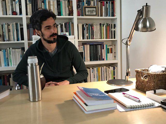 """Preocupación. Ramírez planteó que """"un sector de derechas se está alejando de la cultura democrática""""."""