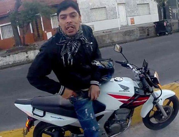 Detuvieron a Gastón Aguirre, el motochorro que fue filmado por un turista en La Boca