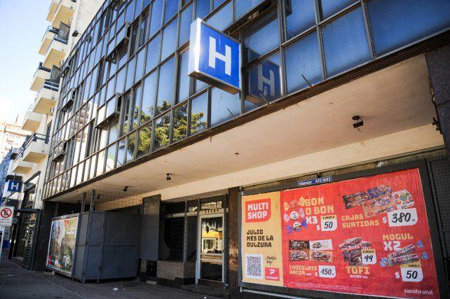 Los edificios están cerrados como hotel para achicar gastos fijos