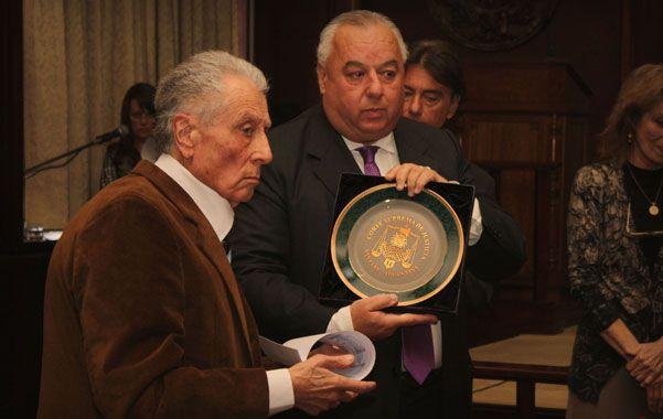 El titular de la Corte reseñó la trayectoria de Velasco Ferrero.