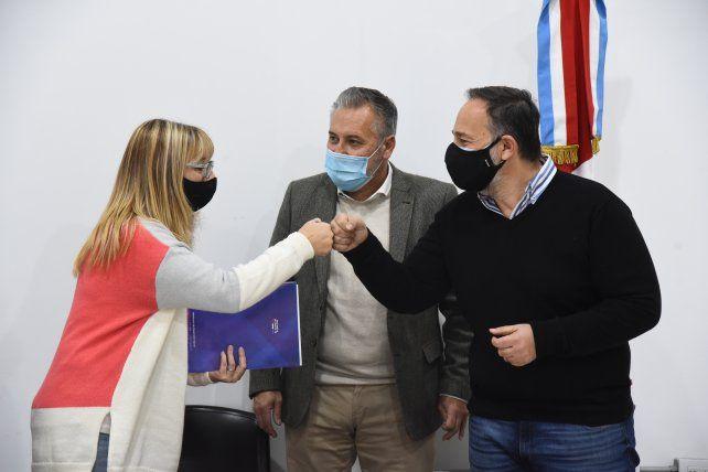 Plan incluir: La Provincia suscribió convenios por 3 millones de pesos con instituciones del departamento Rosario