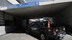 El Hospital de Emergencias Clemente Alvarez. El hombre herido en Franklin y Sánchez de Loria se encuentra internado en grave estado.