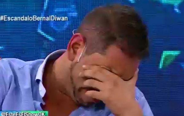 Ariel Diwan quebró en llanto durante un programa en el que habló de Gisela Bernal.