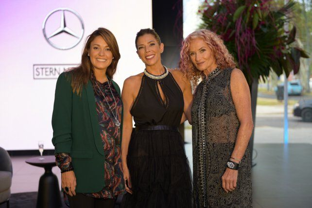 Romina Risiglione, Mariela Spoto y Roxana Glikstein