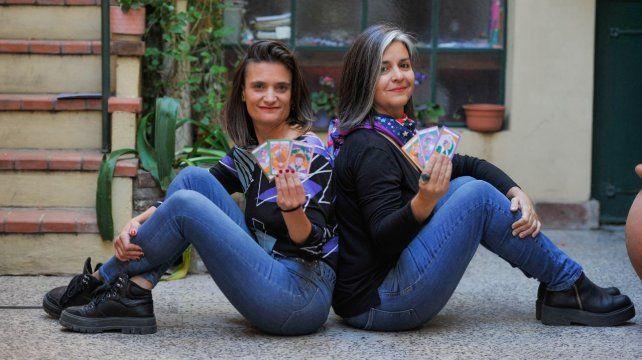 Virginia Giacosa y Virginia Luco presentarán en agosto su libro Un hechizo pluripotente.