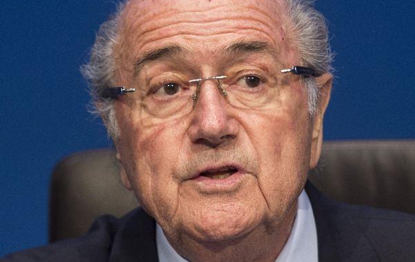 En la mira. Blatter ratificó lugares.