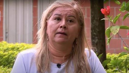 Martha Sepúlveda durante la última entrevista que concedió. La mujer esperaba morir ayer a las 7 de la mañana.