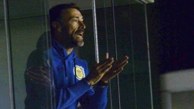 Asomó el equipo. El Kily González busca cerrar el semestre con un triunfo.