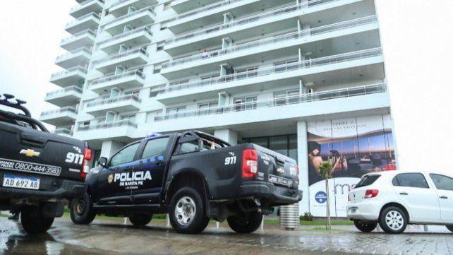 La policía volvió a la torre de Puerto Norte por un infractor reincidente