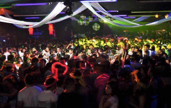 Panorámica de la fiesta que se vivía dentro de las instalaciones de Central Córdoba.