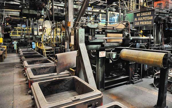 Expectativas. Las empresas esperaban un mayor avance de la sustitución de importaciones de piezas de fundición.