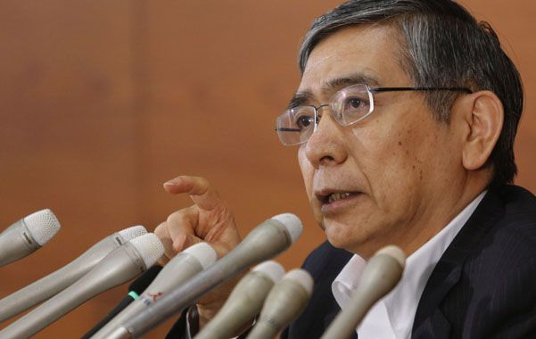 Expansión. El titular del Banco Central japonés estuvo en la reunión de Jackson Hole. Ratificó su política monetaria.