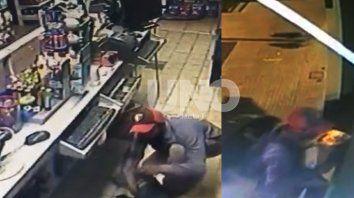 Robos en barrio Candioti Sur. Un bar, una rotisería y un drugstore, los negocios que un delincuente saqueó sin importarle la presencia de las cámaras de seguridad.