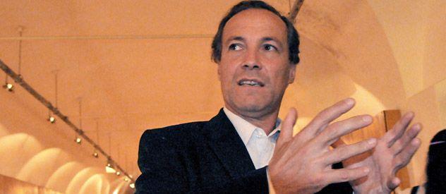 """Rubén Giustiniani dijo que el kirchnerismo """"tiene los votos"""" para aprobar la expropiación. (Foto: M. Bustamante)"""